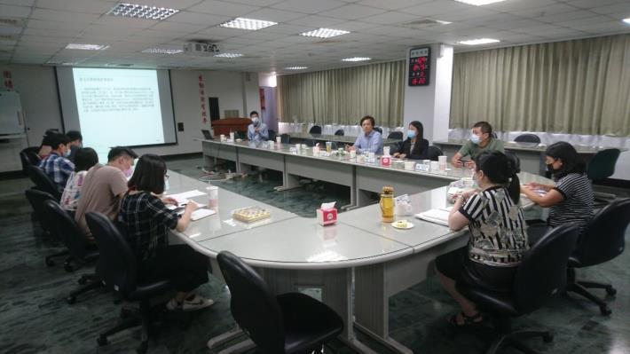全體人員參加ISMS內部稽核結束會議_圖示