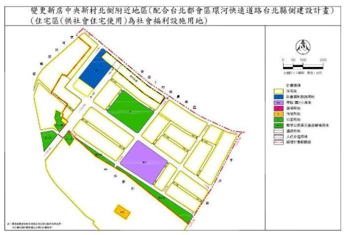 圖2-土地使用分區圖_圖示
