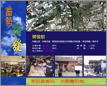 新莊副都市中心地區-開發前_圖示