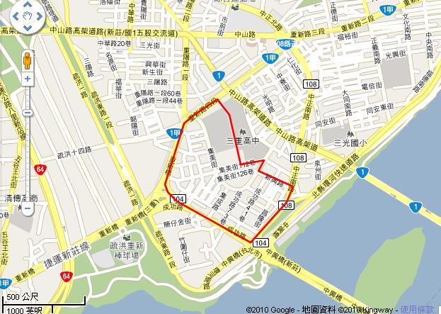 二重埔市地重劃區開發範圍