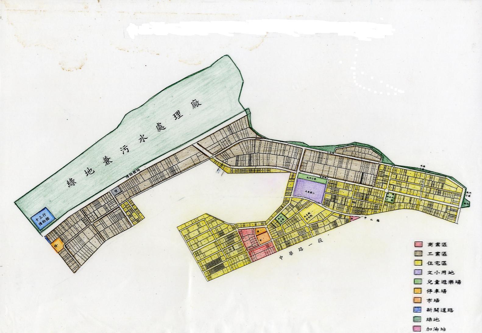 里區八里坌市地重劃區都市計畫圖