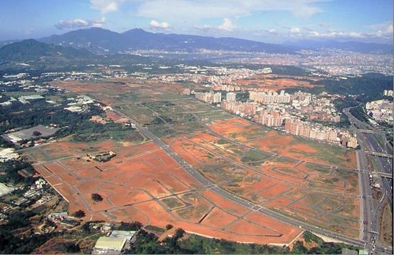 林口第三期(三、四區)市地重劃區空照圖