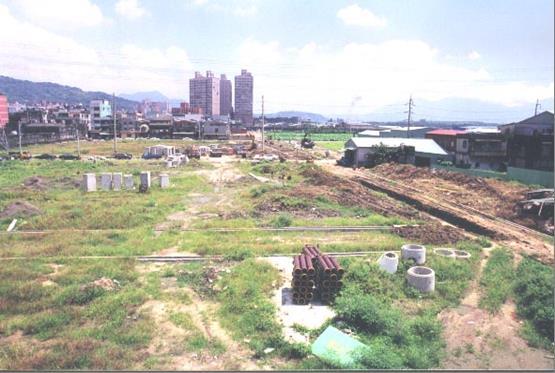 泰山東側市地重劃區重劃前