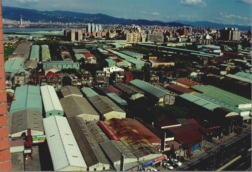 蘆洲南港子市地重劃區重劃前