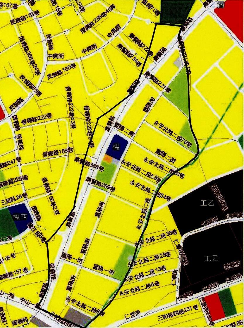 蘆洲重陽市地重劃區都市計畫圖