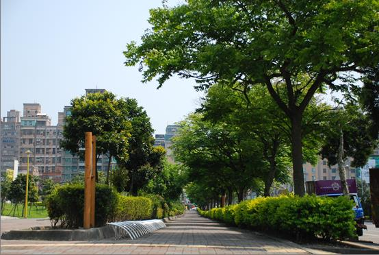 重劃區內公園