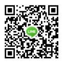 新北市汐止地政事務所LINE QR-code圖示,行動裝置掃描可連至本所LINE。